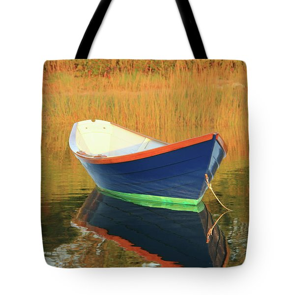 Blue Dory Tote Bag by Roupen  Baker
