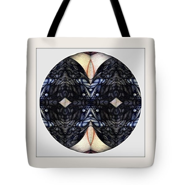 Blue Dot Tote Bag