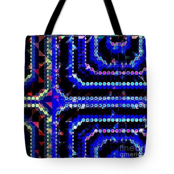 Blue Dot Tote Bag