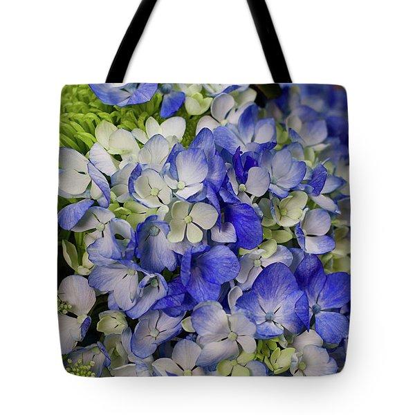 Blue Dreams Tote Bag by Afrodita Ellerman