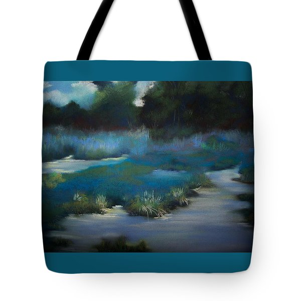 Blue Eden Tote Bag