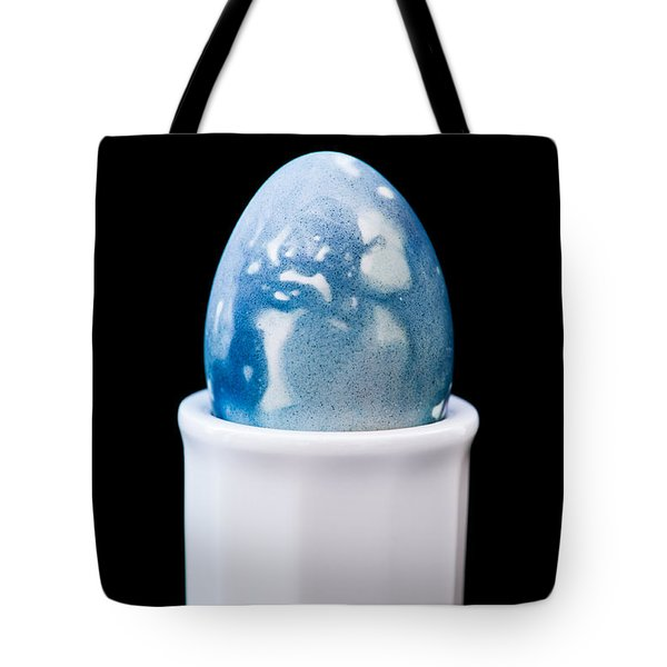Tote Bag featuring the photograph Blue Egg by Ari Salmela