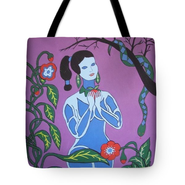 Blue Eve  No. 2 Tote Bag by Stephanie Moore