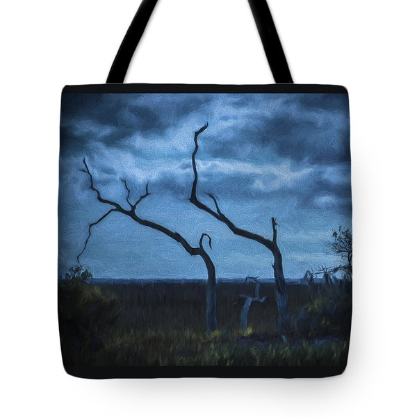 Blue Evening  Tote Bag