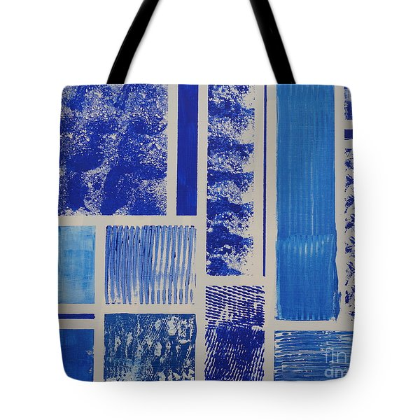 Blue Expo Tote Bag