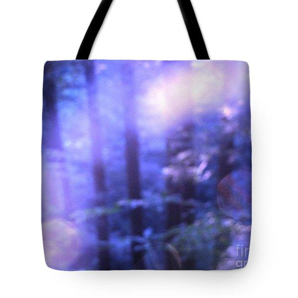 Blue Fairies Tote Bag