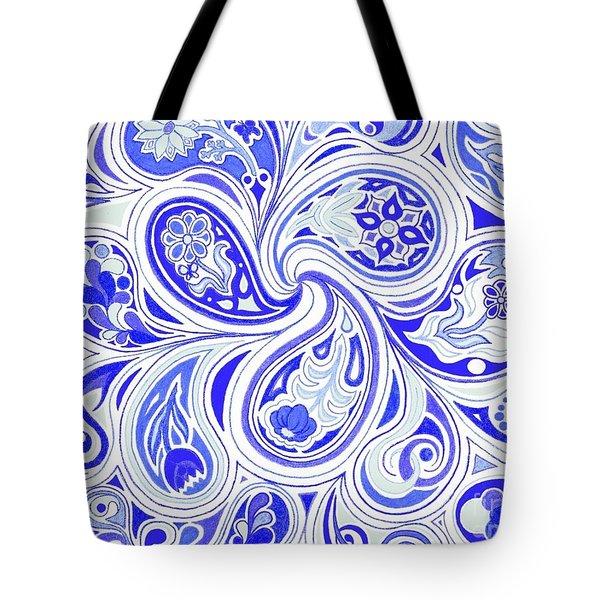Blue Fantastic Tote Bag