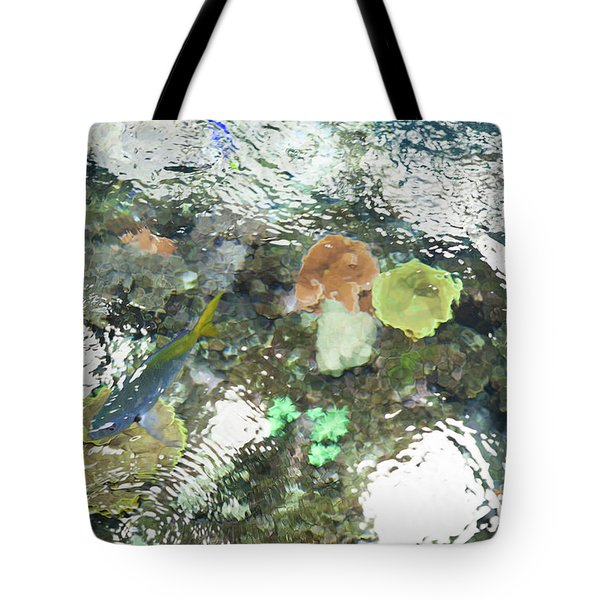 Tote Bag featuring the photograph Blue Fish by Carol Lynn Coronios
