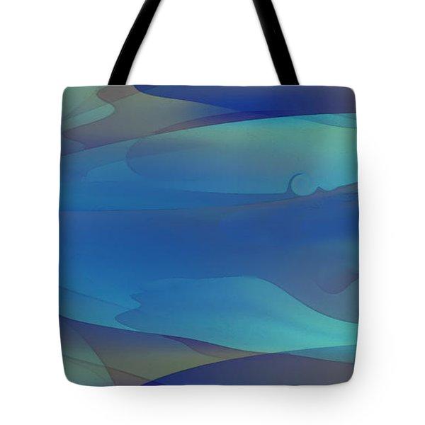 Blue Fog I Tote Bag