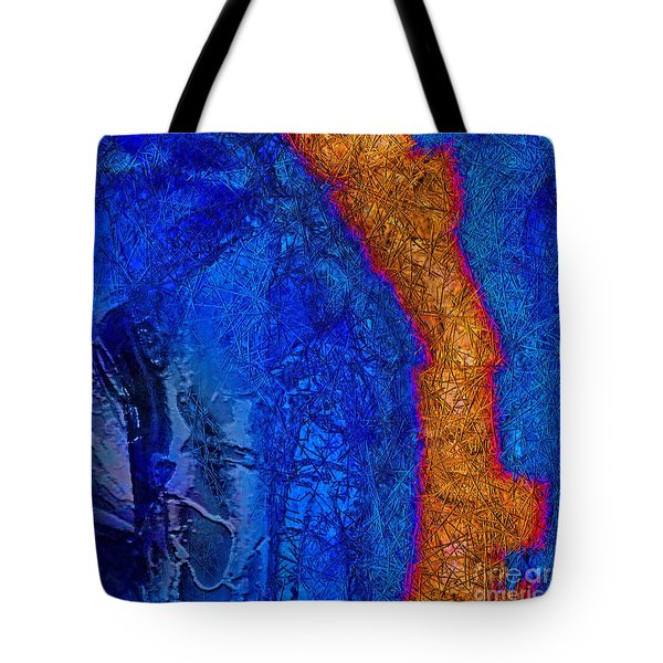 Blue Force Tote Bag by Dee Flouton