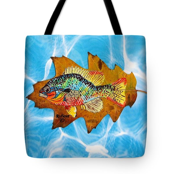 Blue Gill Tote Bag