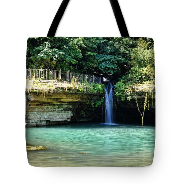 Tote Bag featuring the photograph Blue Glory by Cricket Hackmann