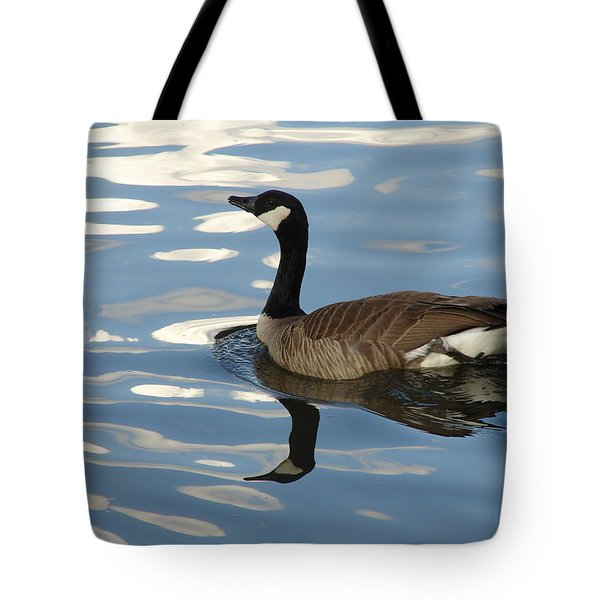 Blue Goose Tote Bag