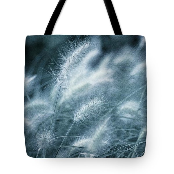 Blue Gras Tote Bag