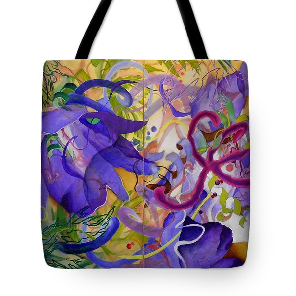 Blue Grass Exotica Tote Bag