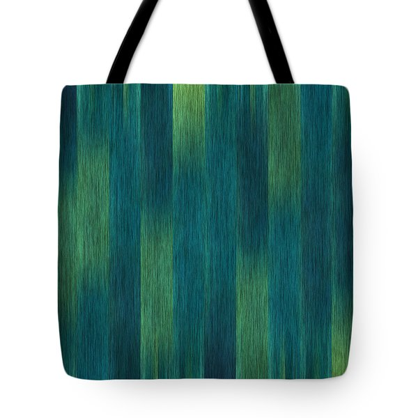 Blue Green Abstract 1 Tote Bag