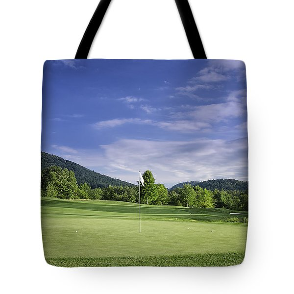 Tote Bag featuring the photograph Blue Green by Claire Turner