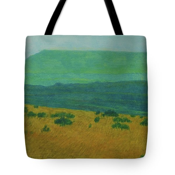 Blue-green Dakota Dream, 1 Tote Bag