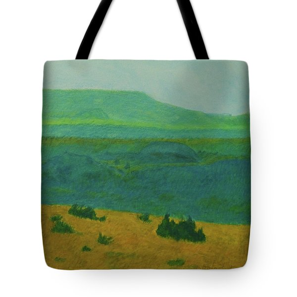 Blue-green Dakota Dream, 2 Tote Bag