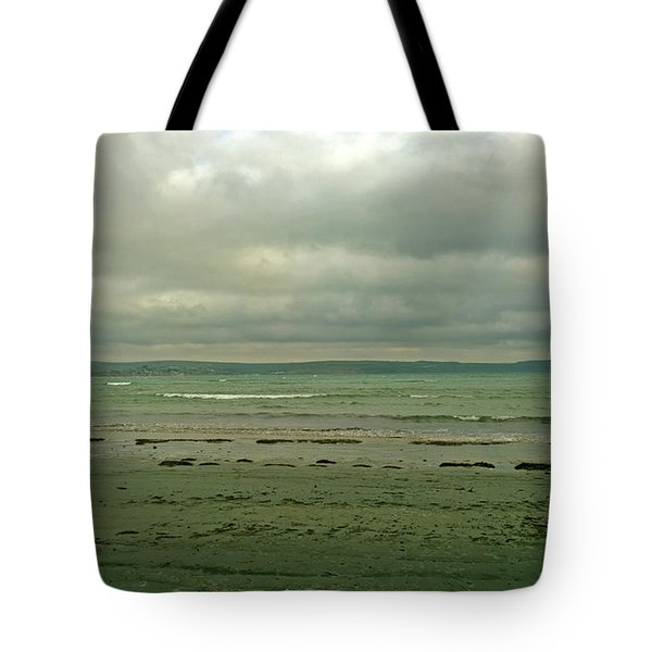 Blue Green Grey Tote Bag by Anne Kotan