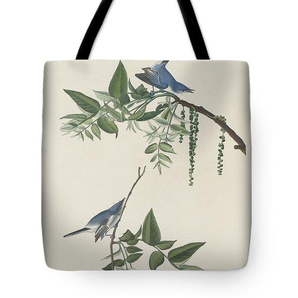 Blue-grey Flycatcher Tote Bag