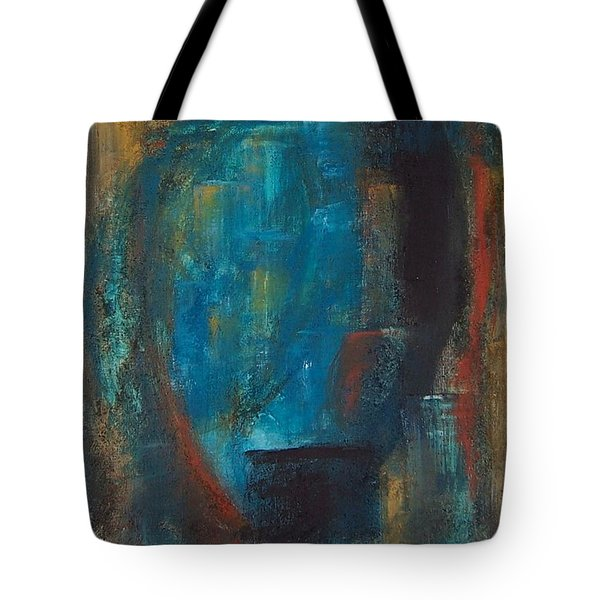 Blue Grotto Tote Bag by Karen Day-Vath