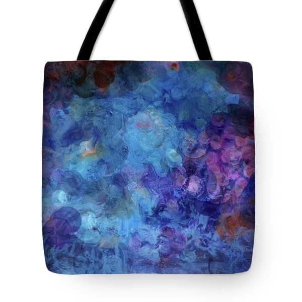 Blue Grotto Painting  Tote Bag