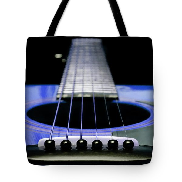 Blue Guitar 14 Tote Bag by Andee Design