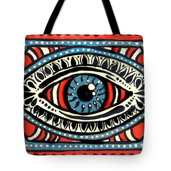Blue Gypsi Eye Tote Bag