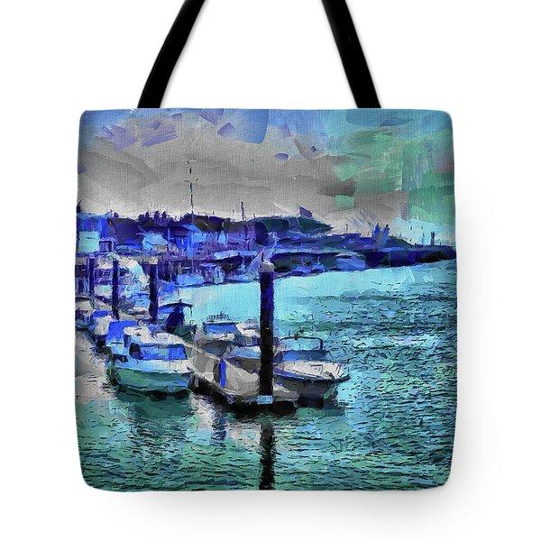 Blue Harbour Tote Bag