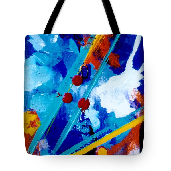Blue Harmony  #128 Tote Bag by Donald k Hall