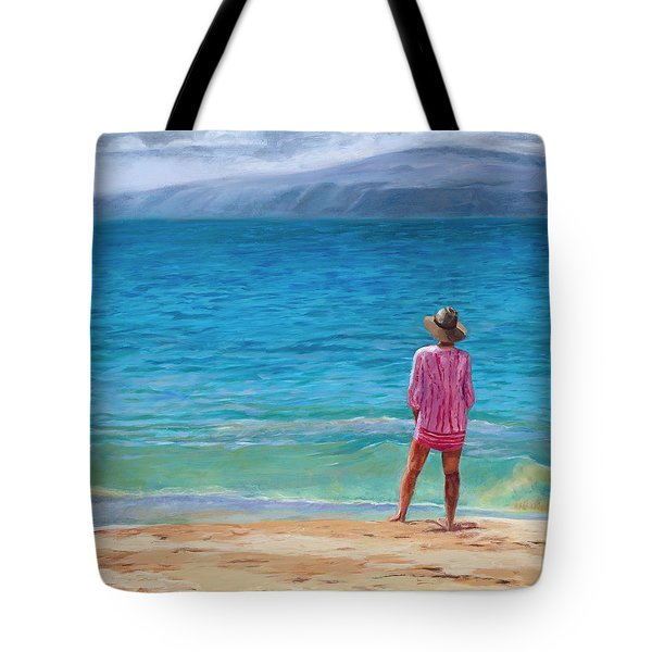 Blue Hawaii Tote Bag