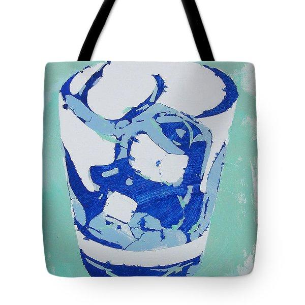 Blue Hawaiian Tote Bag
