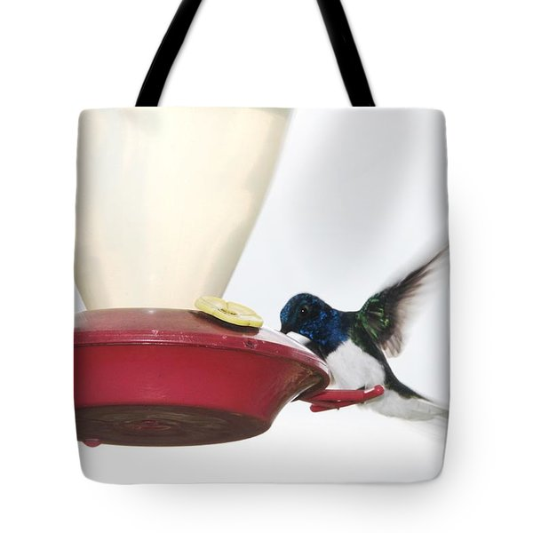 Blue Head Tote Bag