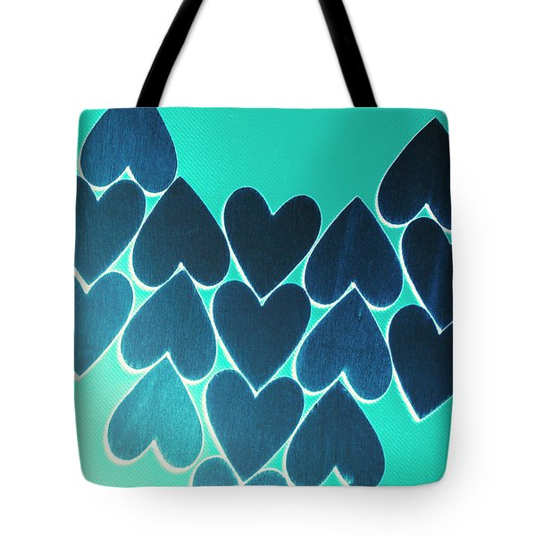 Blue Heart Collective Tote Bag