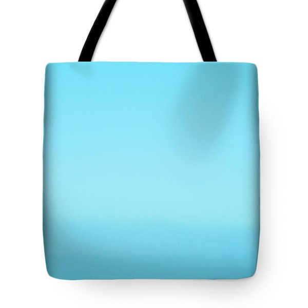 Blue Heaven Abstract Tote Bag