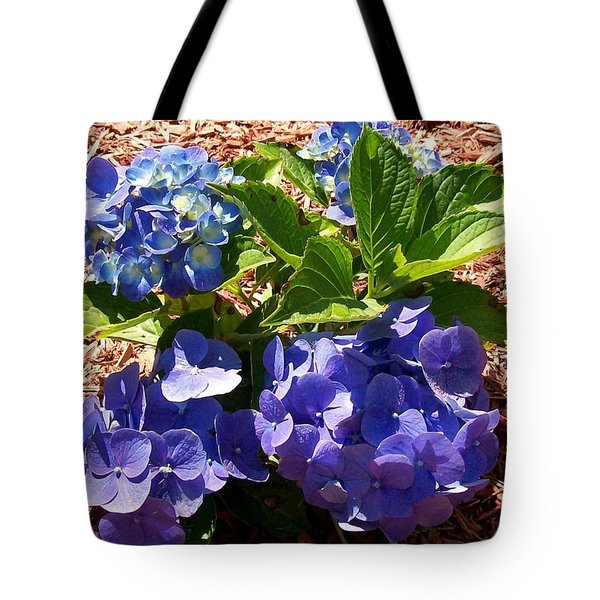 Tote Bag featuring the digital art Blue Heaven by Barbara S Nickerson