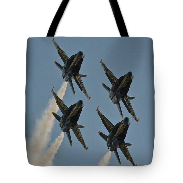 Tote Bag featuring the photograph Blue Heaven by Carol  Bradley