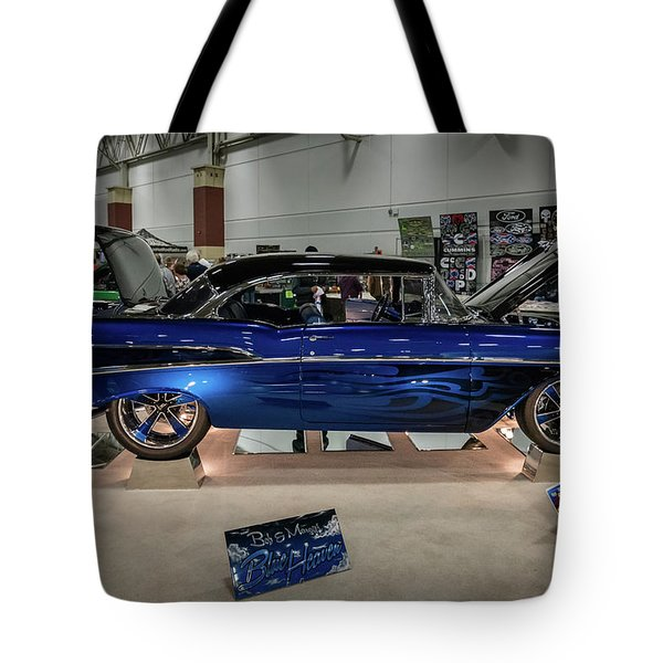 Tote Bag featuring the photograph Blue Heaven by Randy Scherkenbach