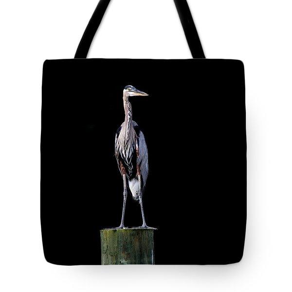 Blue Heron Prestige Tote Bag