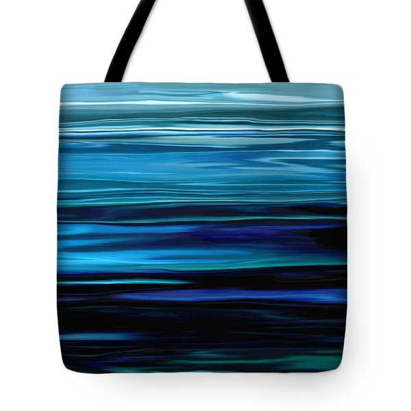 Blue Horrizon Tote Bag