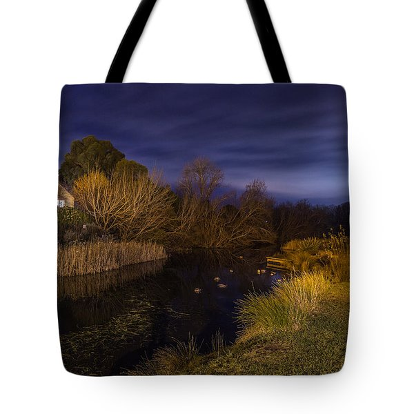 Blue Hour At The Richmond River Tote Bag
