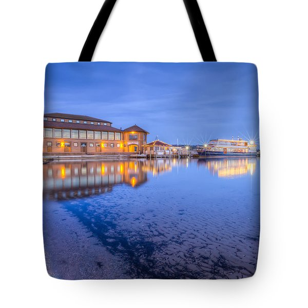 Blue Hour At The Riviera Tote Bag