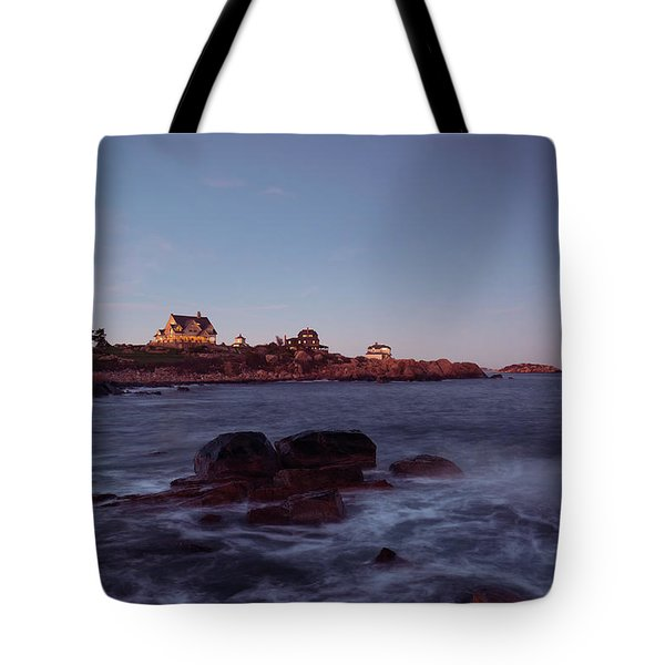 Blue Hour In Gloucester Tote Bag