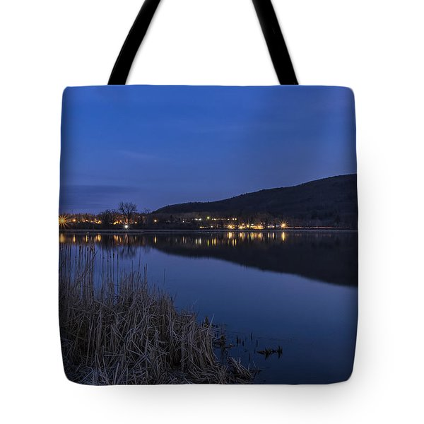 Blue Hour Retreat Meadows Tote Bag