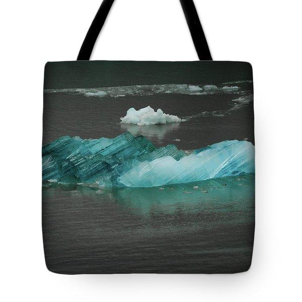 Blue Iceberg Tote Bag