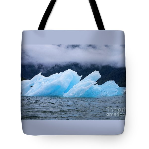 Blue Iceberg Tote Bag