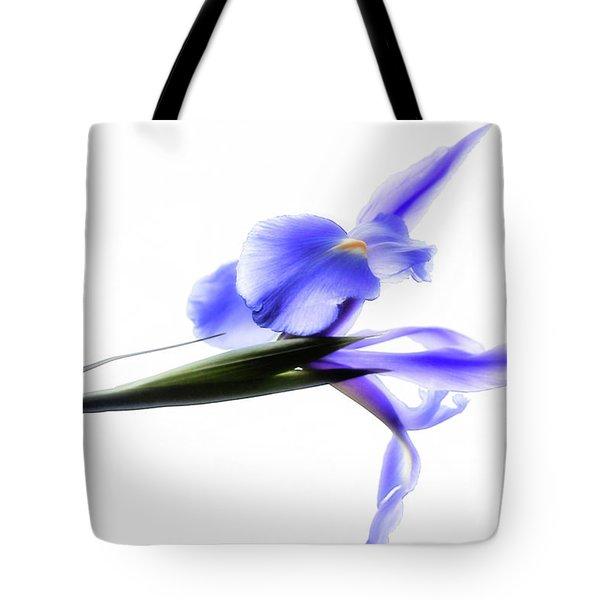 Blue Iris For Irma Tote Bag
