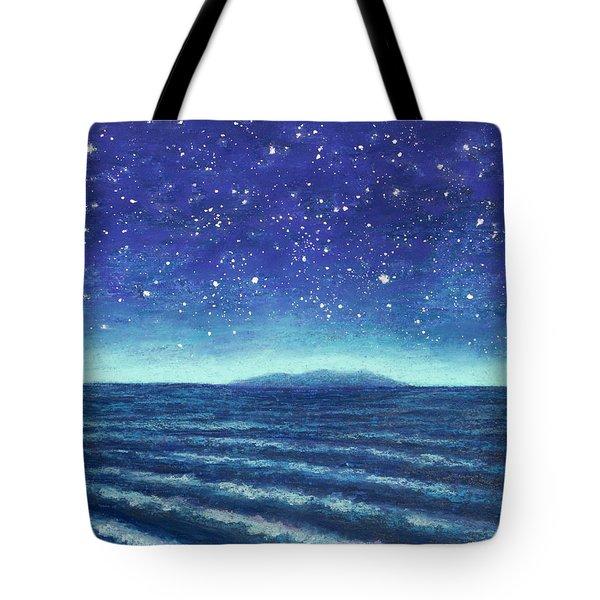 Blue Island 01 Tote Bag