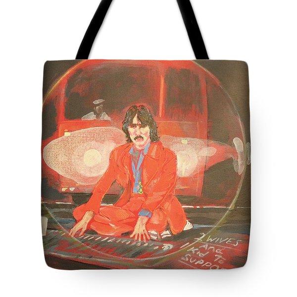 Blue Jay Way Tote Bag